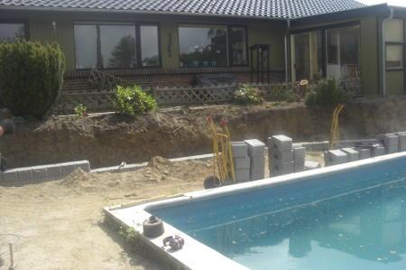 Anlæg af ny terrasse